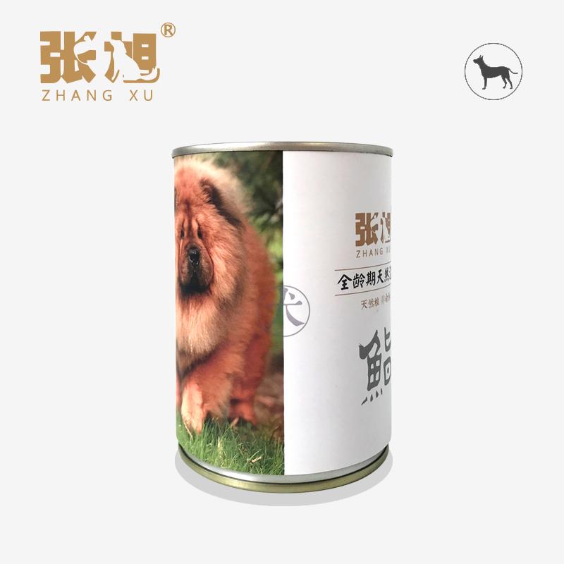 张旭宠物天然粮 370g×24罐 中大型犬湿粮 软粮 罐头